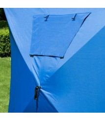 4 Person Ice Fishing Tent Blue Sporting Shelter Camping Ice Fishing Lightweight