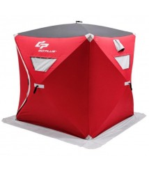 3-person Portable Ice Shelter Fishing Tent with Bag - Ships From US