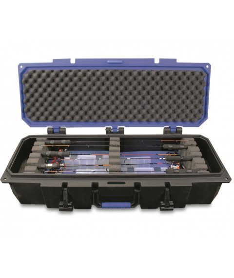 Otter Pro-Tech 40 Deep Ice Fishing Rod Case Holds 6-8 Rod/Reel Combos Up To 38