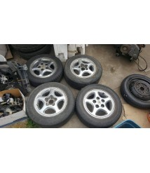 1991-1992 Toyota OEM Wheels with tires